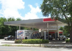 Exxon Gas Station real estate project Charleston SC